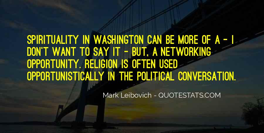 Mark Leibovich Quotes #547706