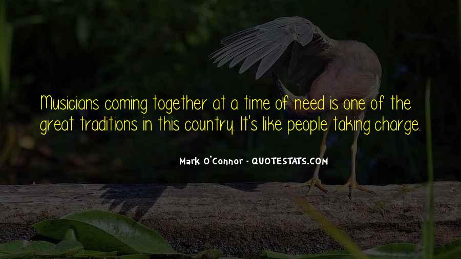 Mark O'Connor Quotes #573188