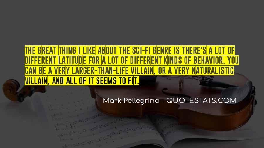 Mark Pellegrino Quotes #1350417