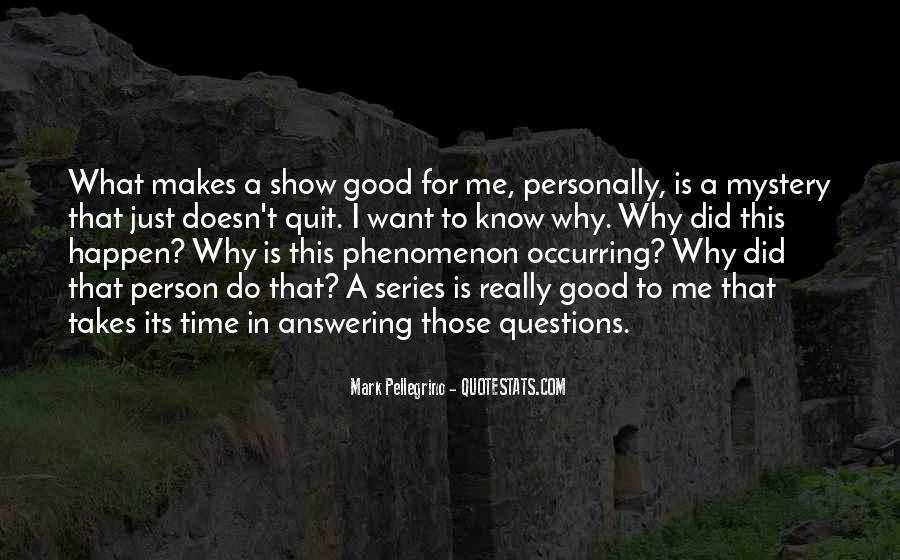 Mark Pellegrino Quotes #1785340