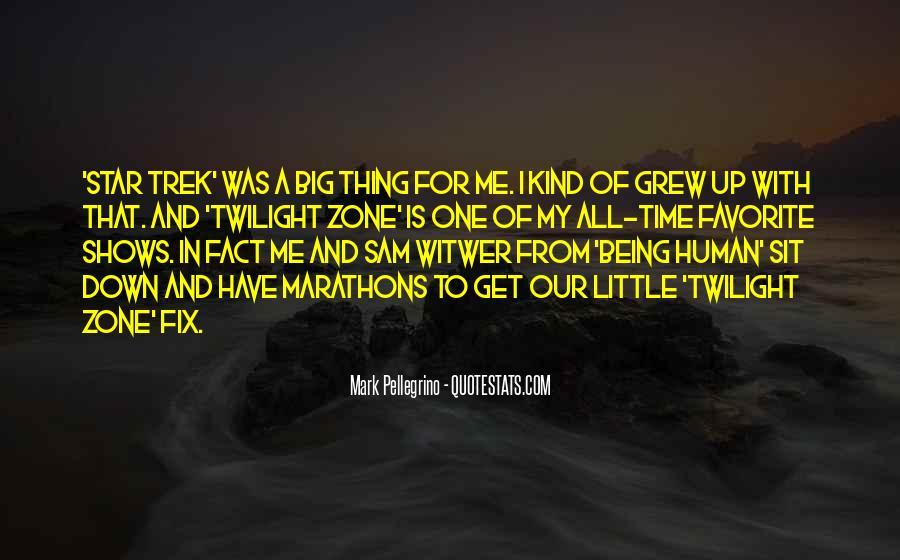 Mark Pellegrino Quotes #1860155