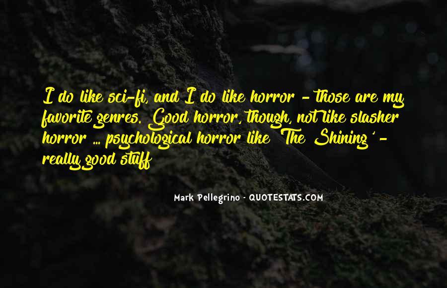 Mark Pellegrino Quotes #567811