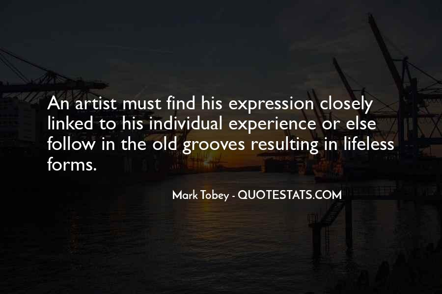 Mark Tobey Quotes #1001088