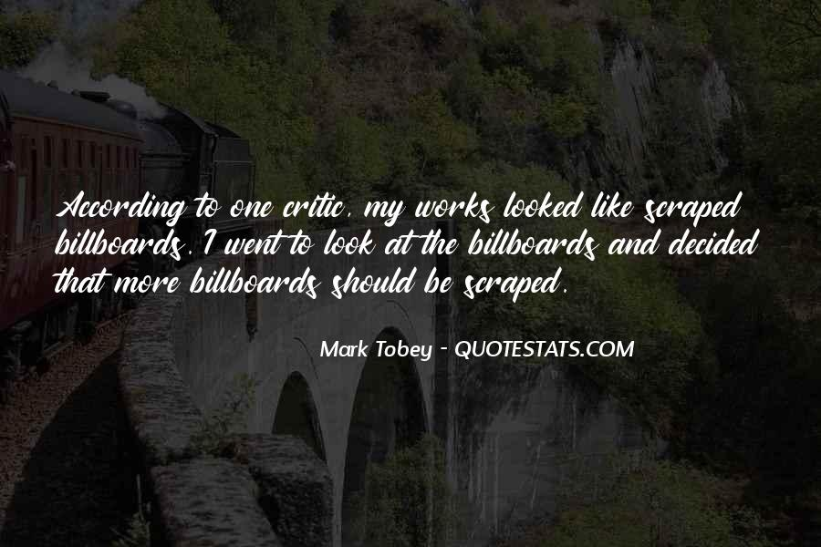 Mark Tobey Quotes #1054176