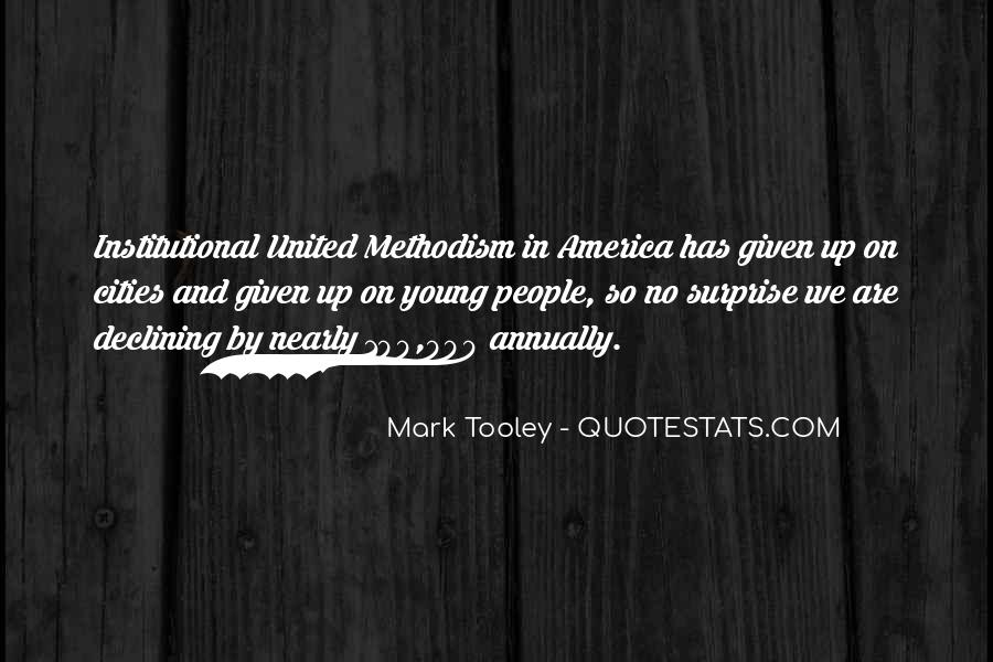 Mark Tooley Quotes #1283076
