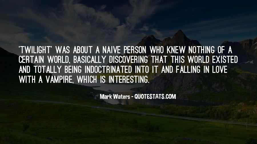 Mark Waters Quotes #1429416