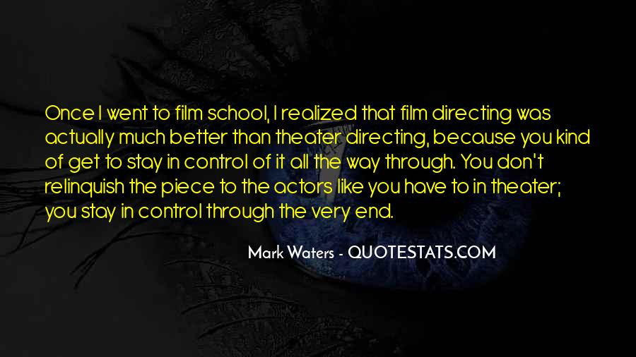 Mark Waters Quotes #436933