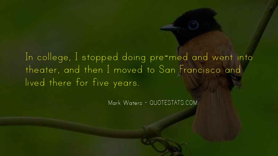 Mark Waters Quotes #86477