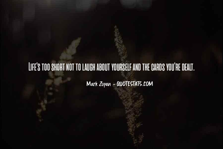 Mark Zupan Quotes #1325664