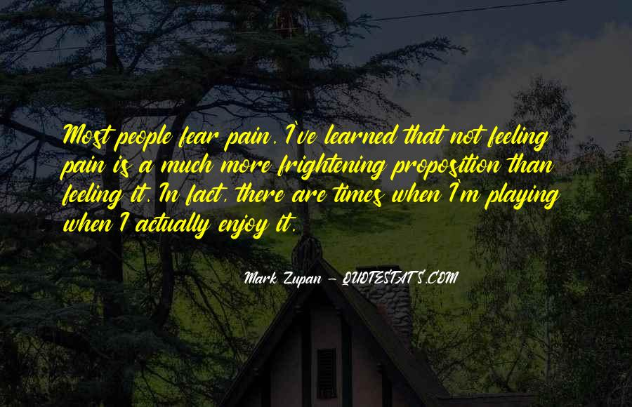 Mark Zupan Quotes #432871