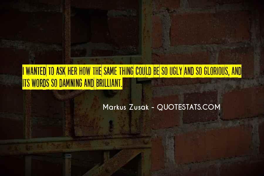 Markus Zusak Quotes #131084