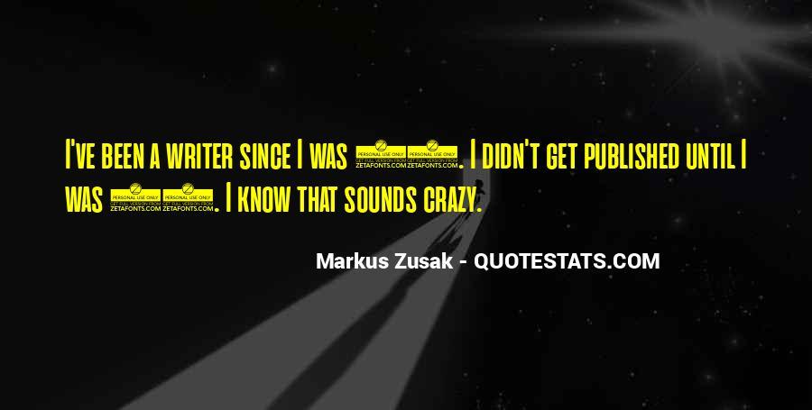 Markus Zusak Quotes #1530540