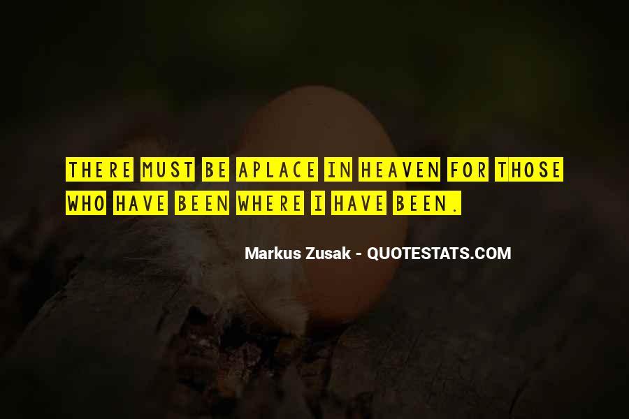 Markus Zusak Quotes #42764