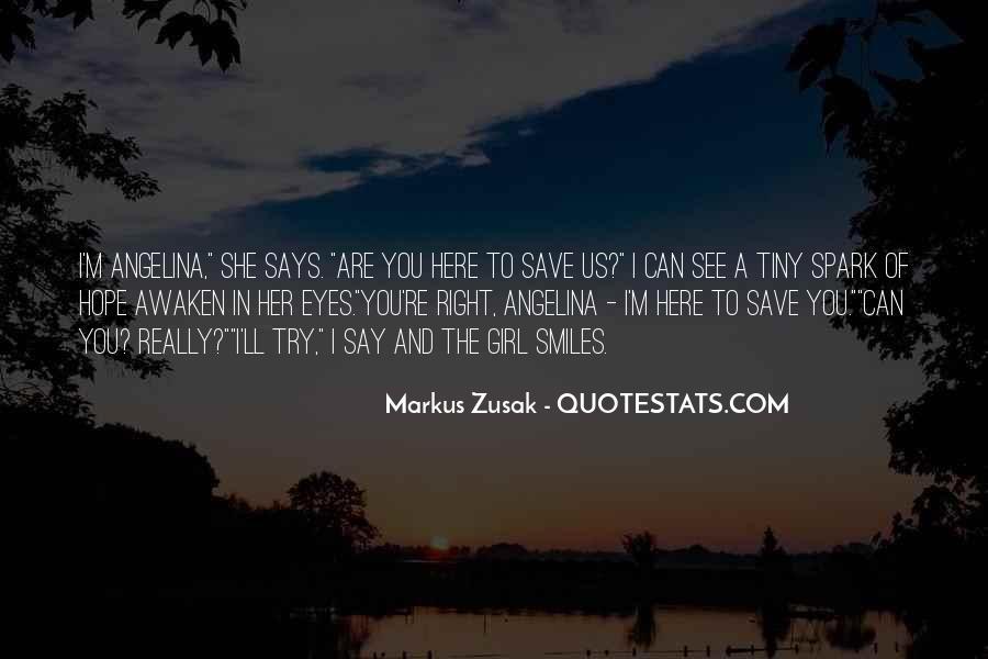 Markus Zusak Quotes #469213