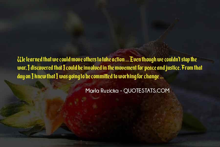 Marla Ruzicka Quotes #1610423
