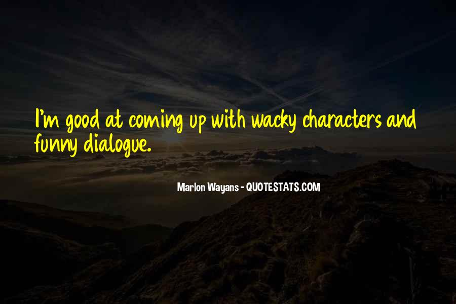 Marlon Wayans Quotes #1167699