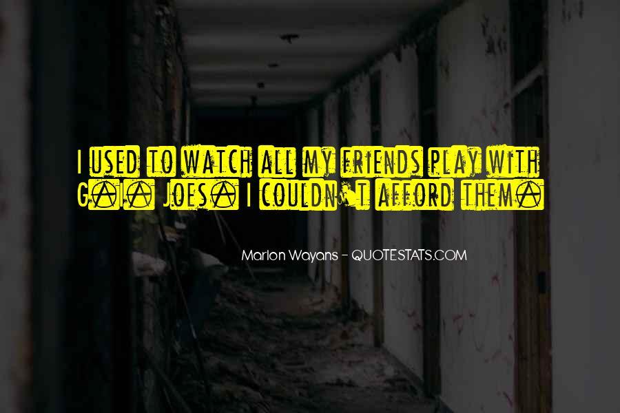 Marlon Wayans Quotes #1258063