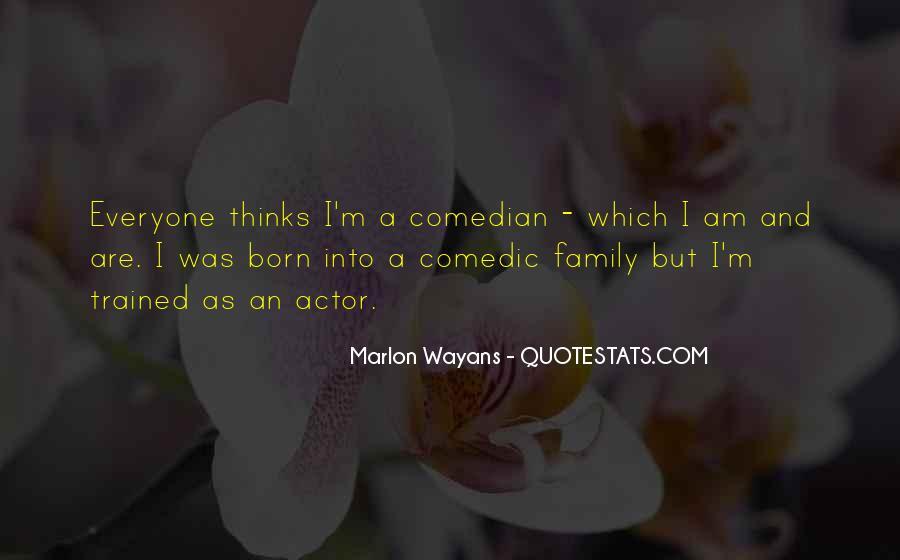 Marlon Wayans Quotes #357839