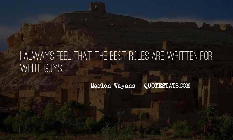 Marlon Wayans Quotes #874646