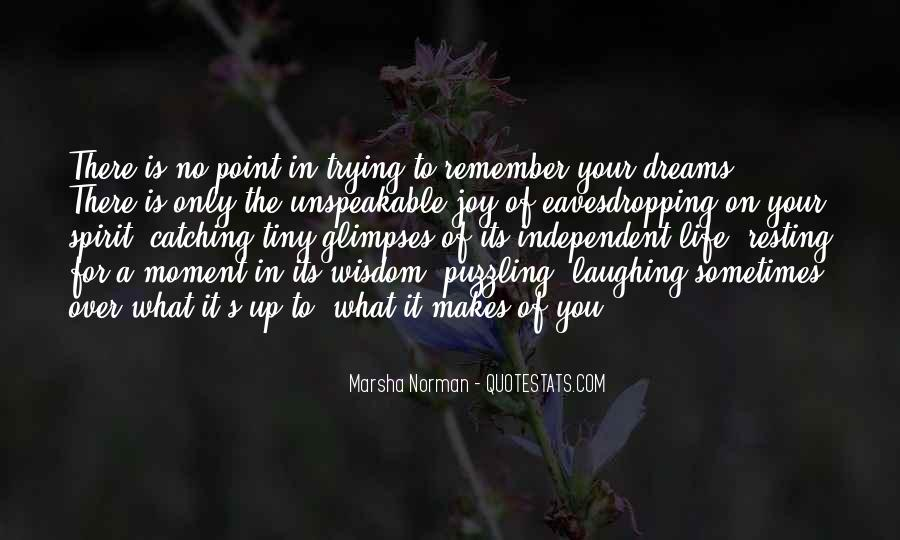Marsha Norman Quotes #1357139