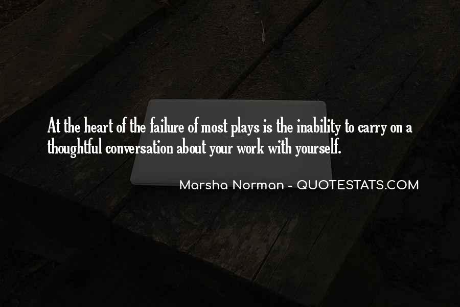 Marsha Norman Quotes #47097