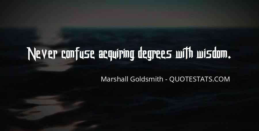 Marshall Goldsmith Quotes #1170498