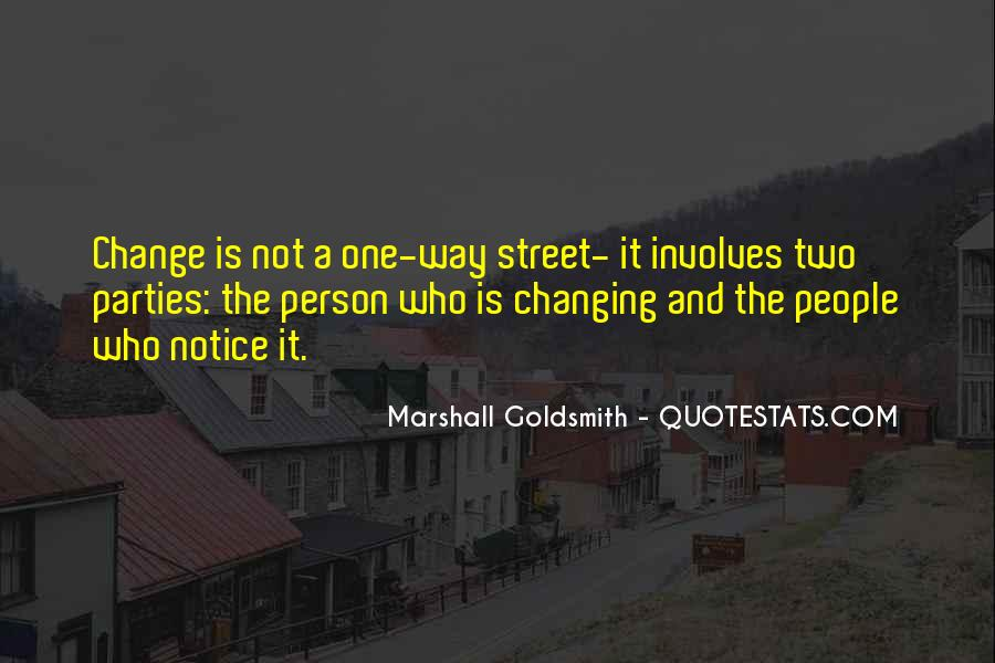 Marshall Goldsmith Quotes #239503