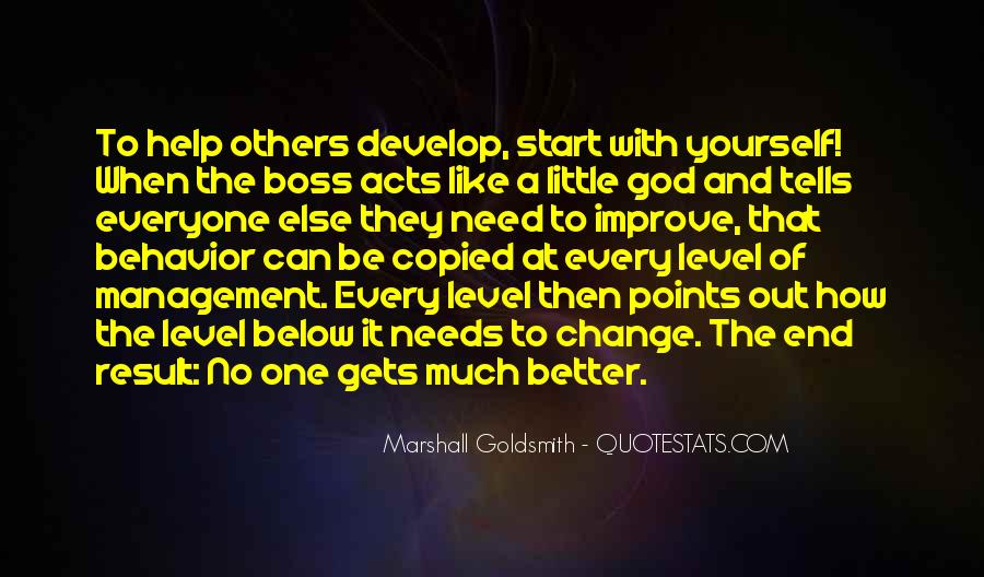 Marshall Goldsmith Quotes #262309