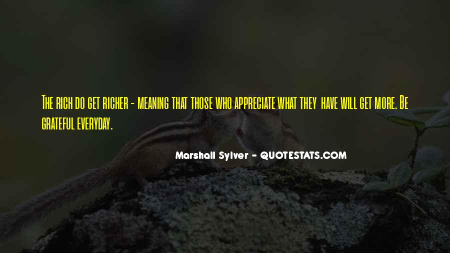 Marshall Sylver Quotes #1122962