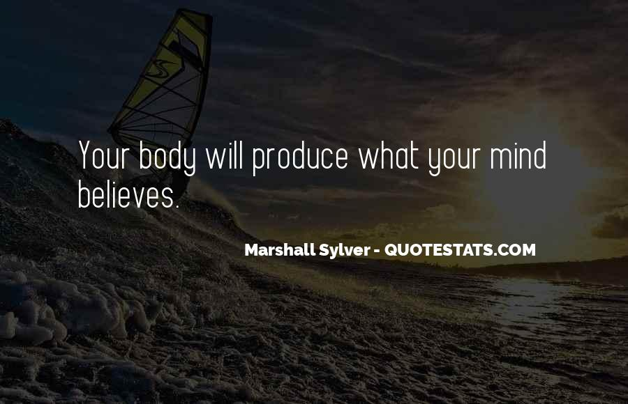 Marshall Sylver Quotes #1500231