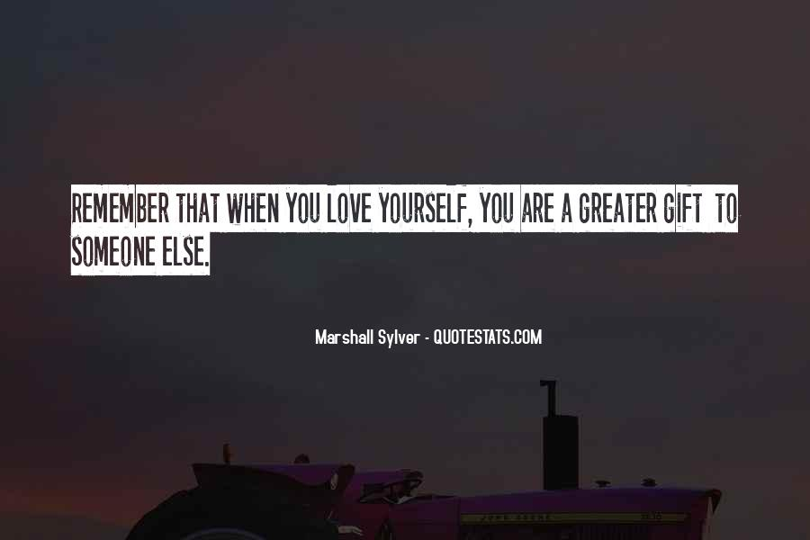 Marshall Sylver Quotes #1571055