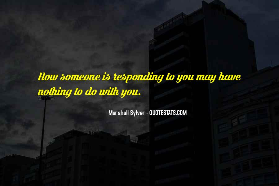 Marshall Sylver Quotes #741296