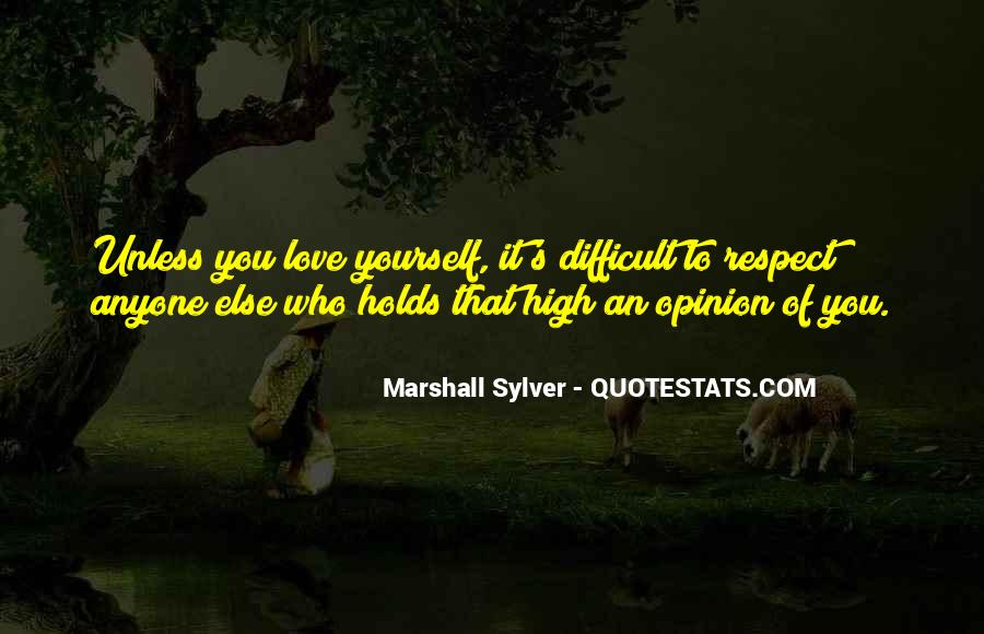 Marshall Sylver Quotes #820410