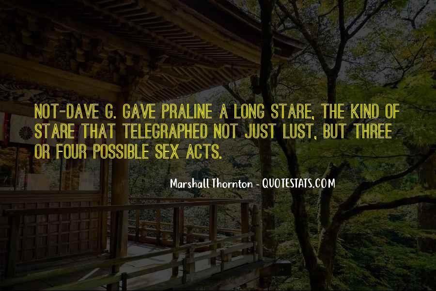 Marshall Thornton Quotes #1015485
