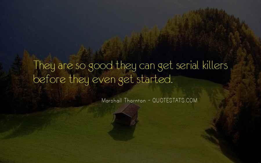Marshall Thornton Quotes #1151801