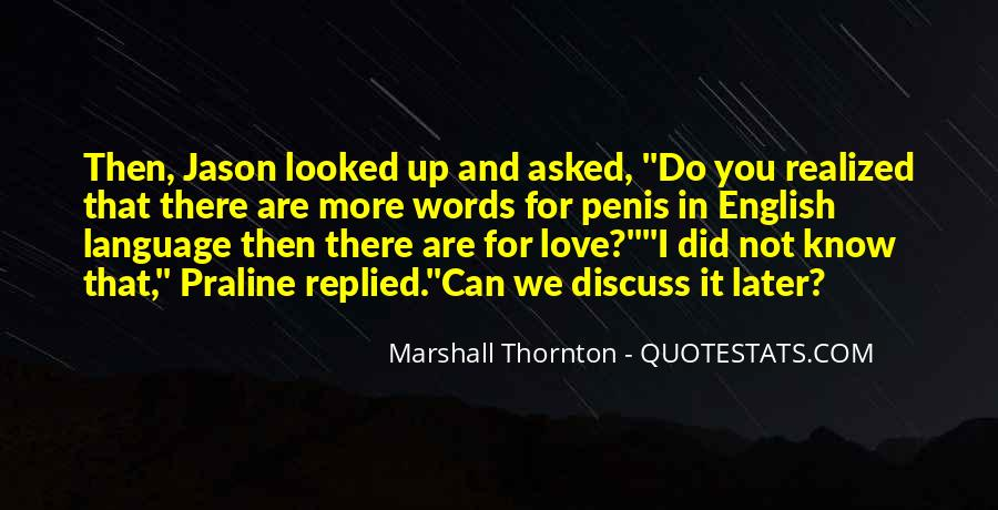 Marshall Thornton Quotes #1158095
