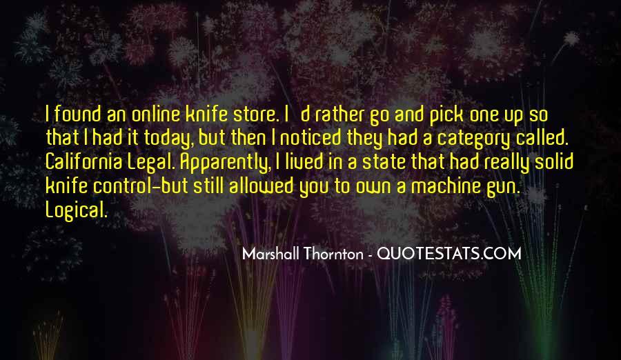 Marshall Thornton Quotes #1202943