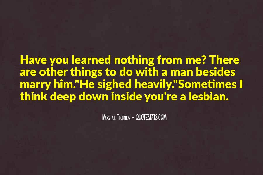 Marshall Thornton Quotes #1271487
