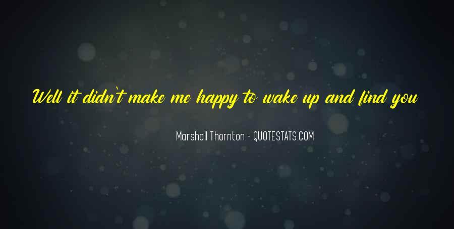 Marshall Thornton Quotes #130981