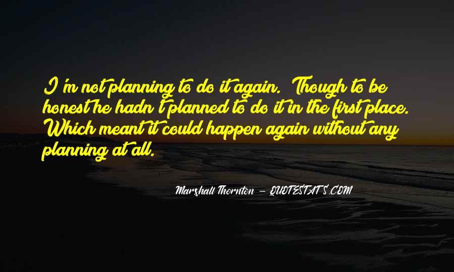 Marshall Thornton Quotes #1331145