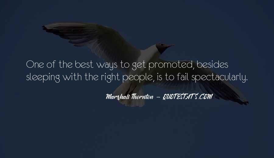Marshall Thornton Quotes #1342844