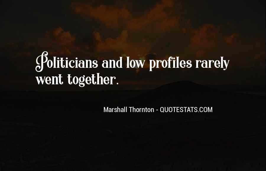 Marshall Thornton Quotes #153986