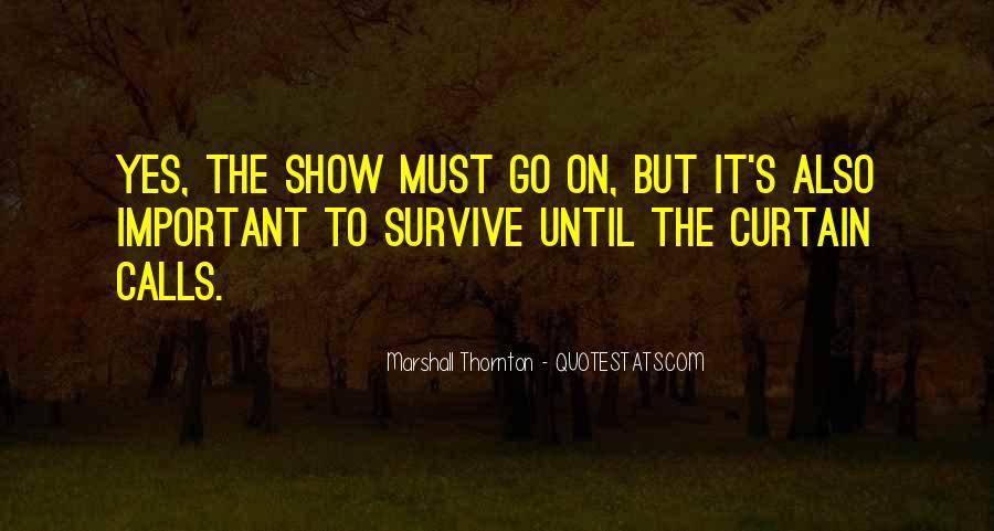 Marshall Thornton Quotes #1557819