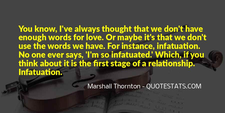 Marshall Thornton Quotes #1594343