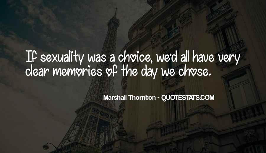 Marshall Thornton Quotes #169356