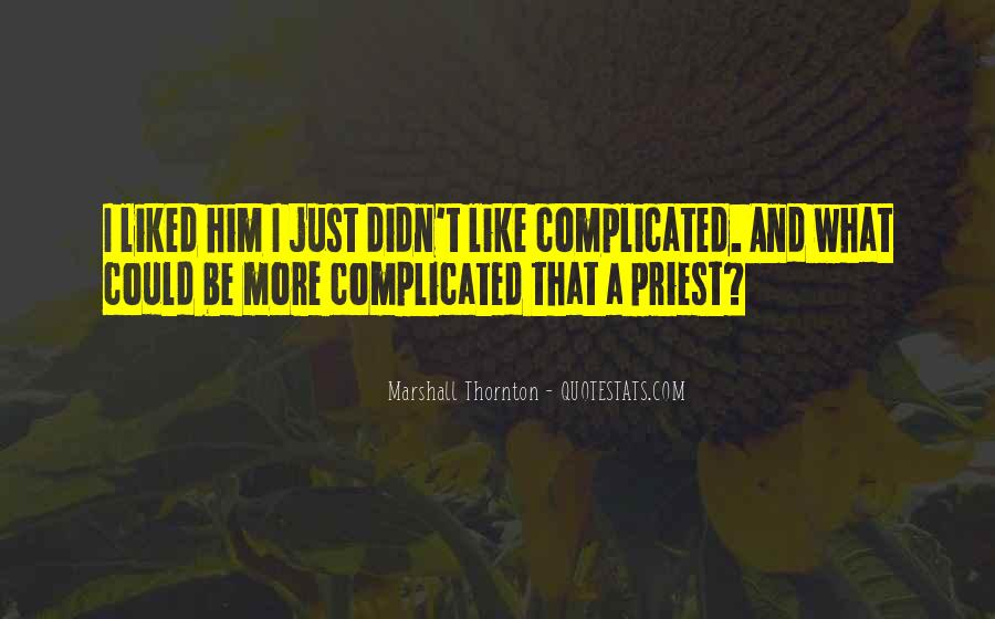 Marshall Thornton Quotes #1797025