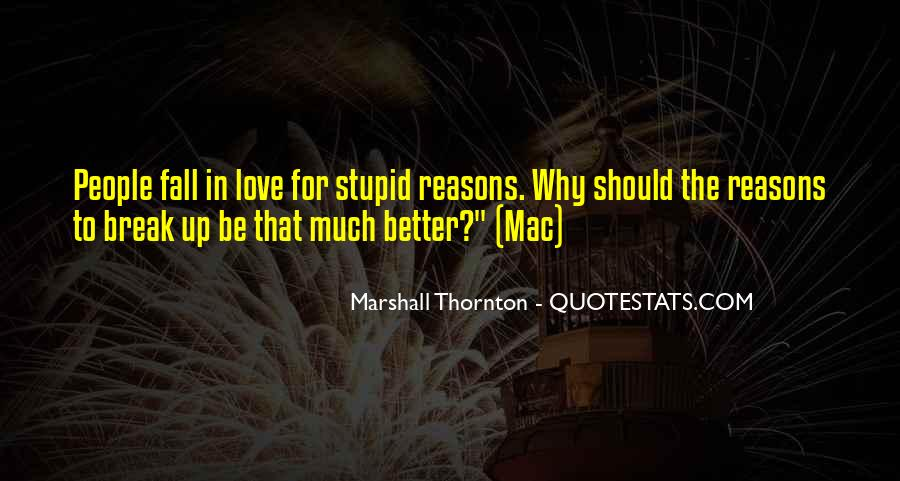 Marshall Thornton Quotes #1808383