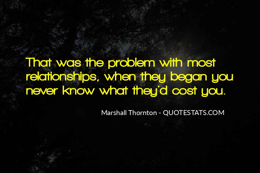 Marshall Thornton Quotes #1822221