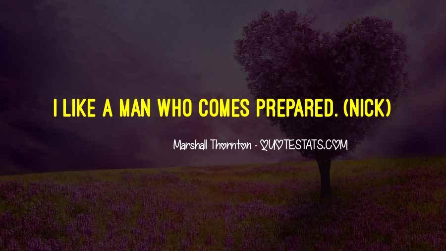 Marshall Thornton Quotes #277195