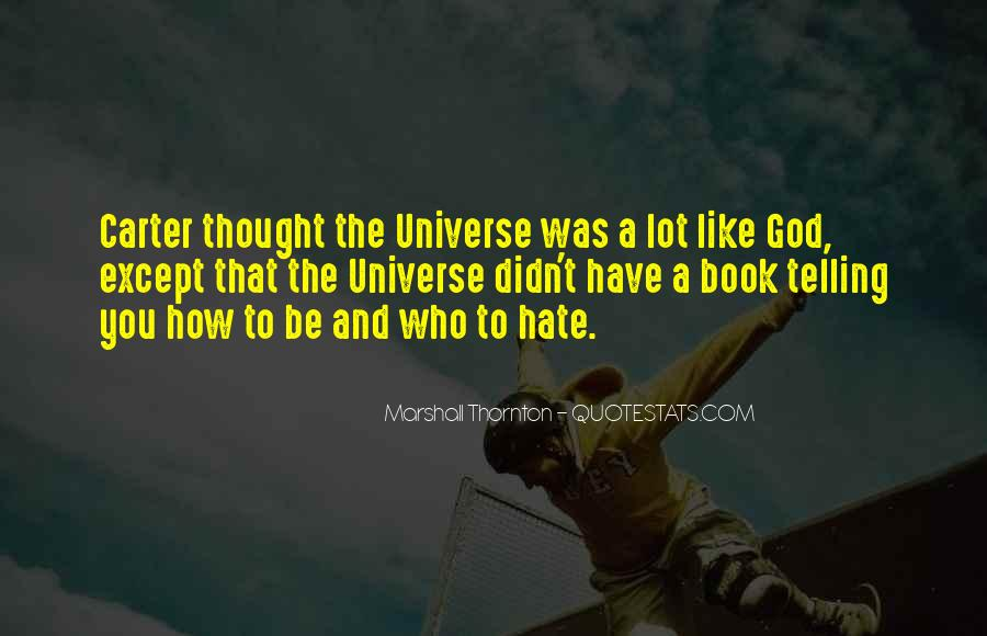 Marshall Thornton Quotes #316139